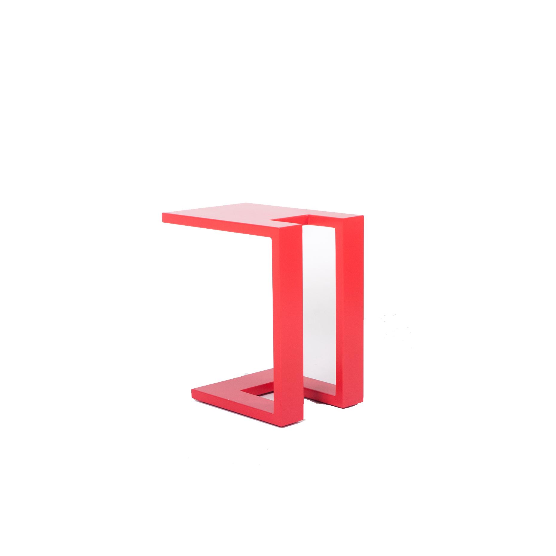שולחן צד רד