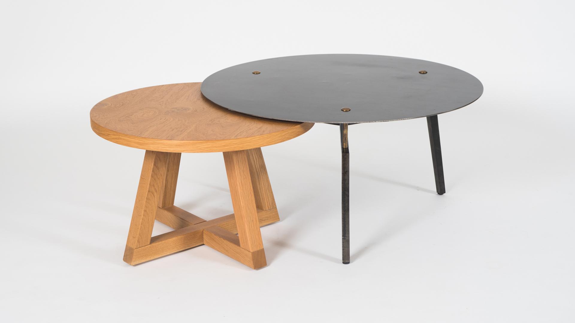 שילוב שולחן ספיידר ושולחן אקס