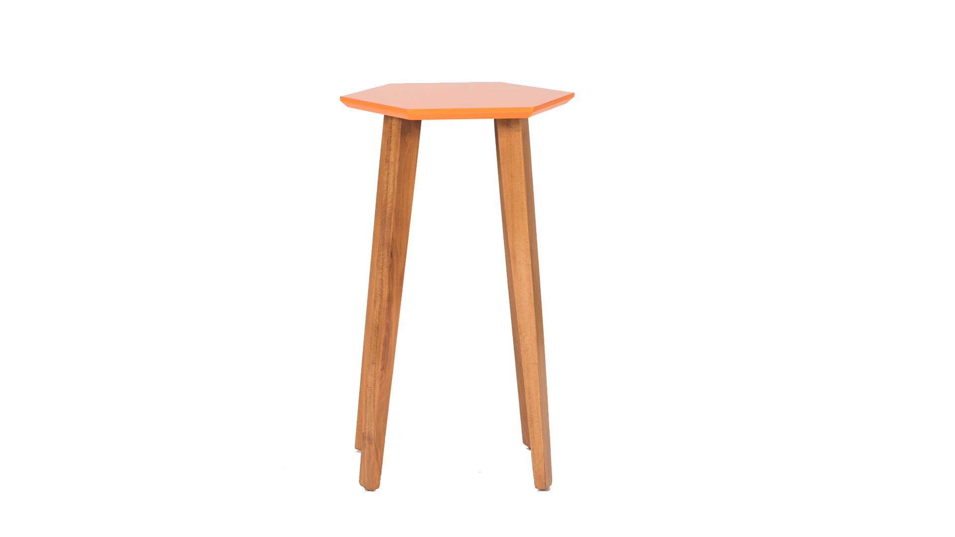 שולחן צד אוקטגון