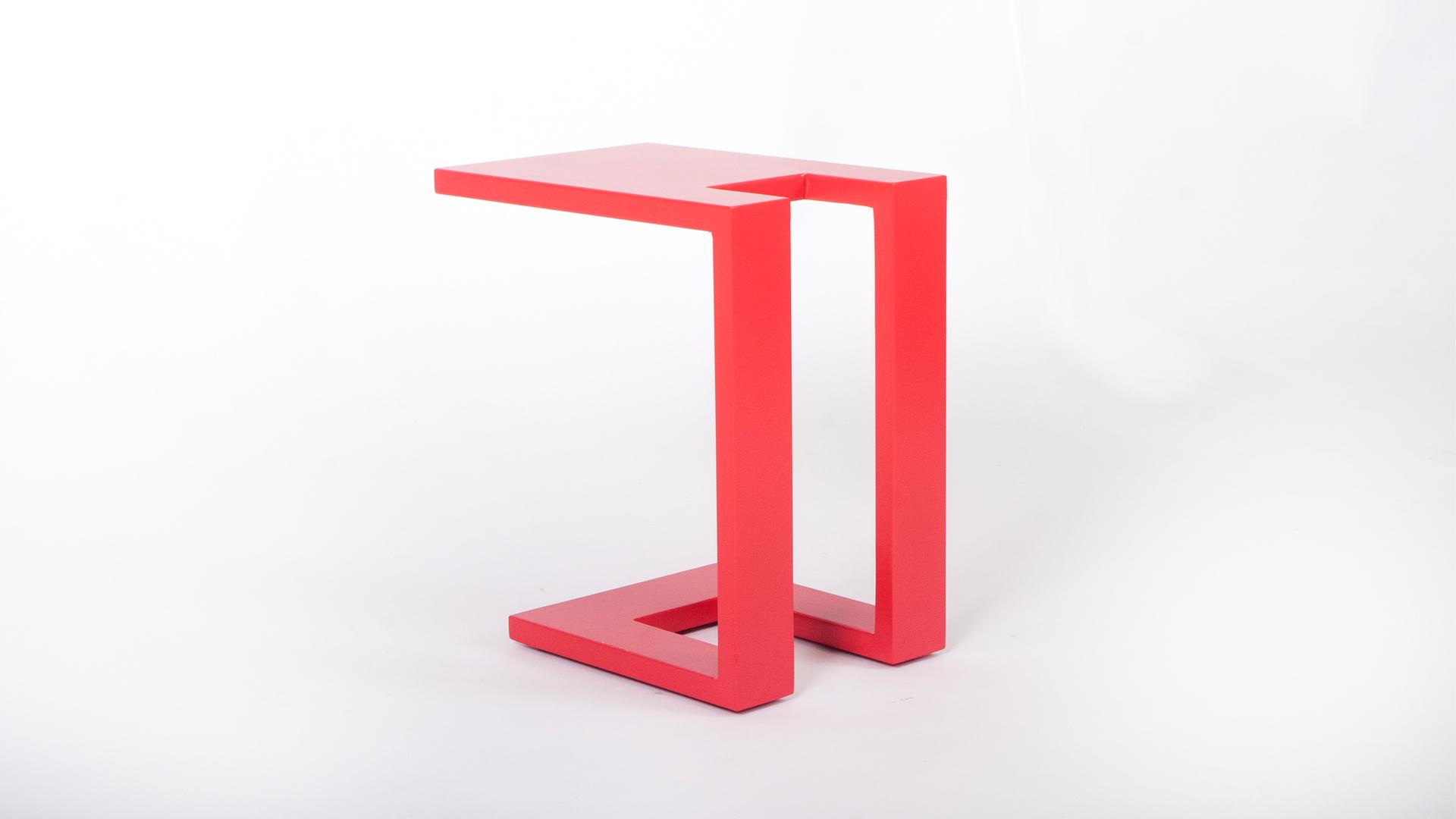 שולחן צד למעמד הספה
